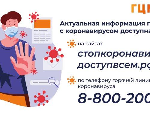 Актуальная информация по ситуации с коронавирусом