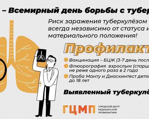 24 марта всемирный день борьбы с туберкулёзом